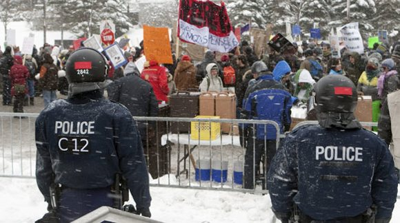 Quebec Students Protest