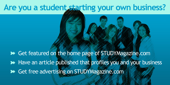 Are you a Student Entrepreneur?