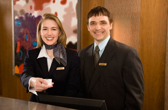 Hotel managers oversee the hiring and training staff, marketing, handling unexpected issues, setting quality standards—and everything in between!