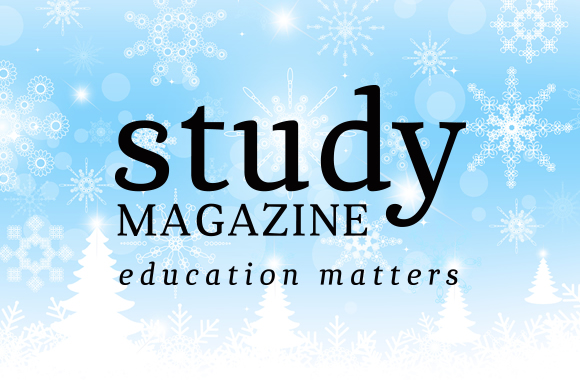 Happy Holidays from everyone at Study Magazine!