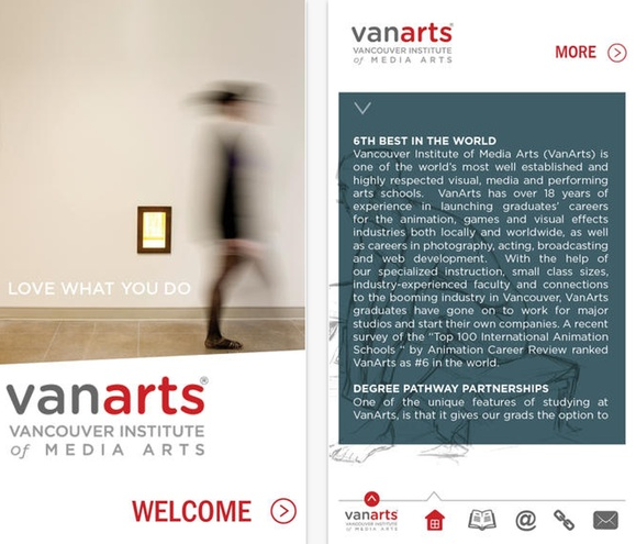 New VanArts App Available for Download on iTunes