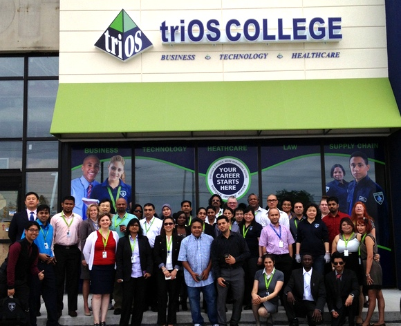 triOS Scarborough Announces New and Improved Campus Location