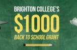 $1000 Back to School Grant Offered by Brighton College