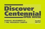 Open House At Centennial College